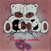 влюбленные медведи, день всех влюбленных, подарок на 14 февраля,