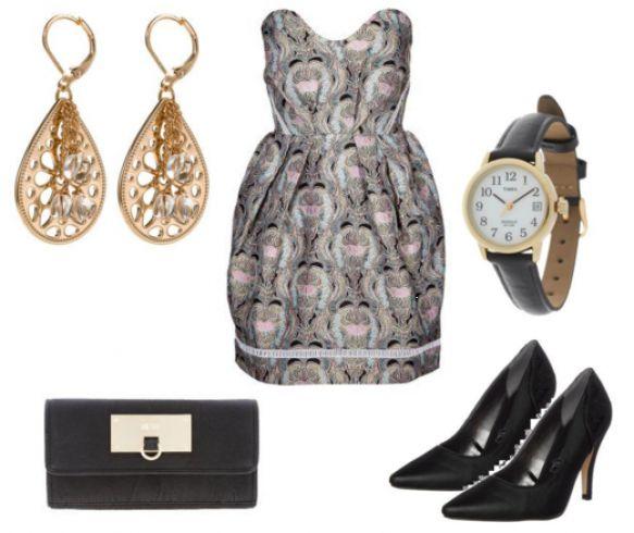 Kjole og accessoires - #Best #Mountain #COPLOG, #Alice #McCall #BERNADETTE #Cocktailkjoler / #festkjoler #flerfarvet, #Timex #T2H341 #Ure
