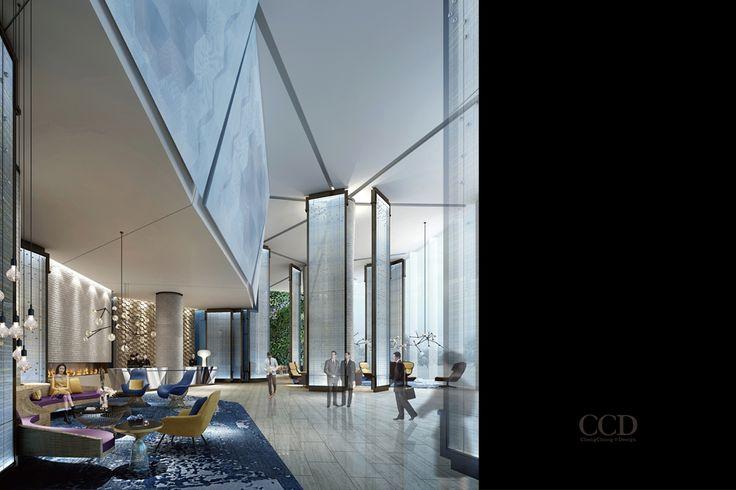 Cheng chung design lobby pinterest for Design merrion hotel 4