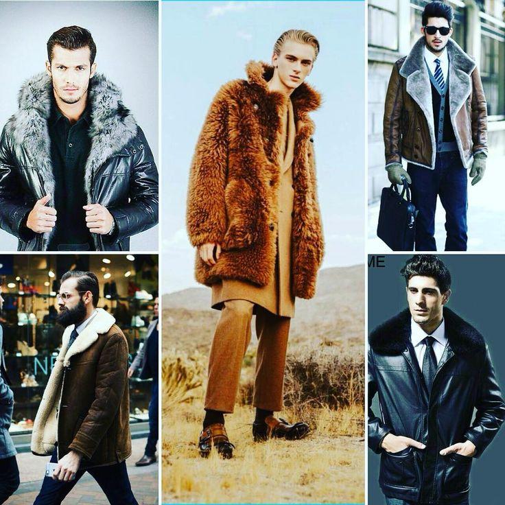 👉E a moda é pra eles também!!  Altamente confortável, a jaqueta com pele fake de carneiro é uma das primeiras opções do homem para os dias mais frios. ❄⛄  Com a mistura de tendências em alta é fácil de inserir a peça no dia a dia e também em ocasiões mais formais!  ➡ Invista em um casaco mais pesado!  #Modaazoficial #Winter  #Modamasculina #DominikSadoch #pinterest