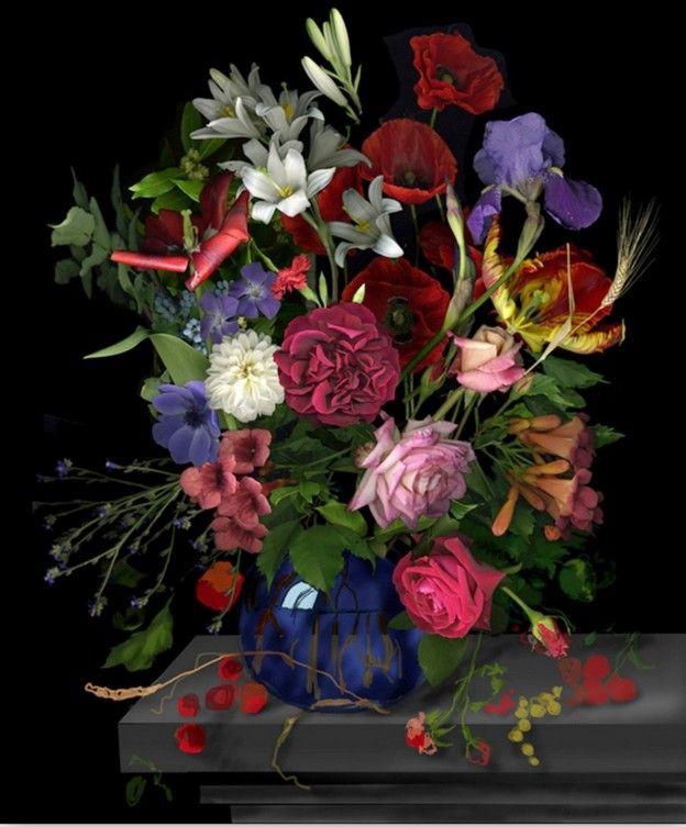 Ver Fotos de Ramos de Rosas Naturales