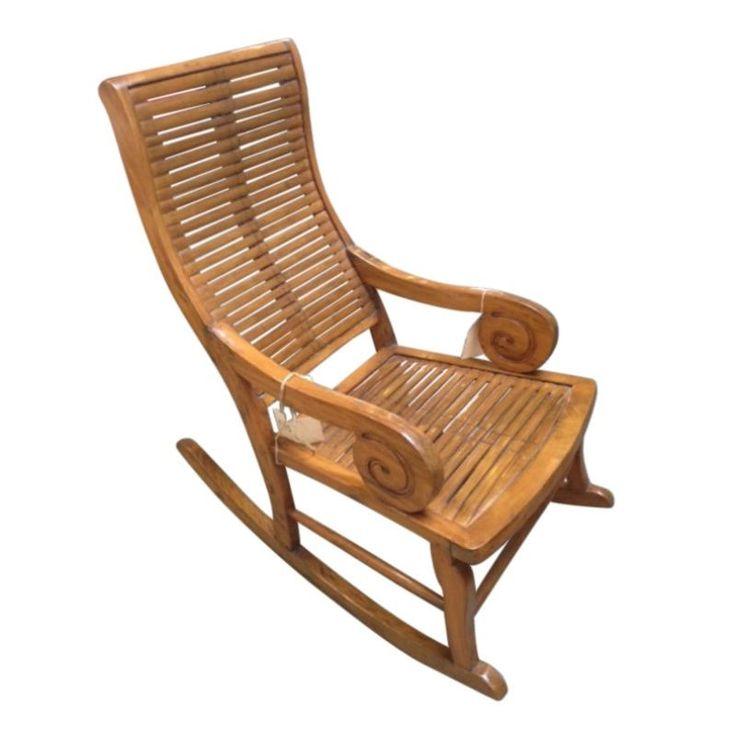 Antique Asian Rocking Chair - $2,500 Est. Retail - $495 on Chairish.com