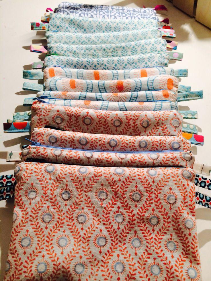 Aus alt mach neu... Handtücher werden zu Täschchen