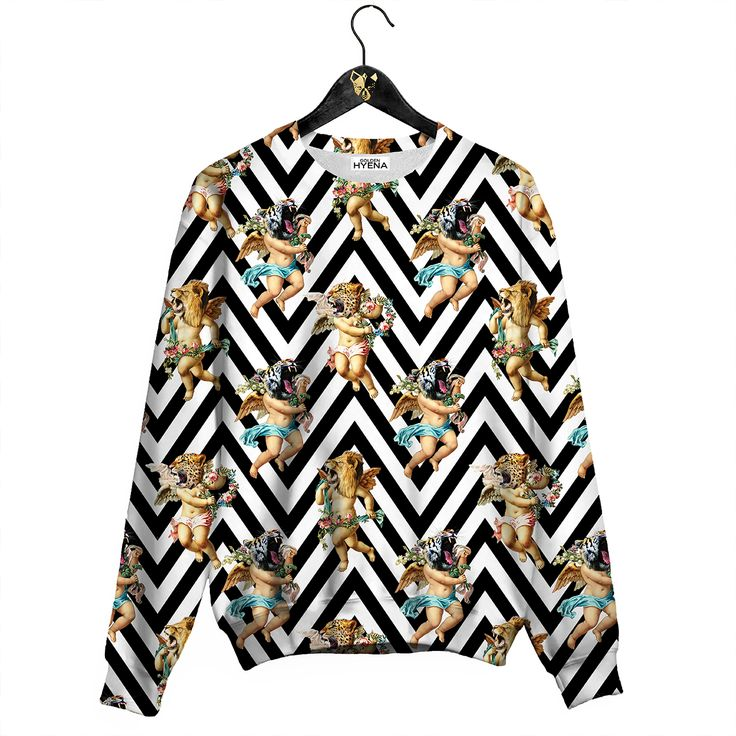Wild Angels Sweater Awesome Jumper by Golden Hyena #goldenhyena