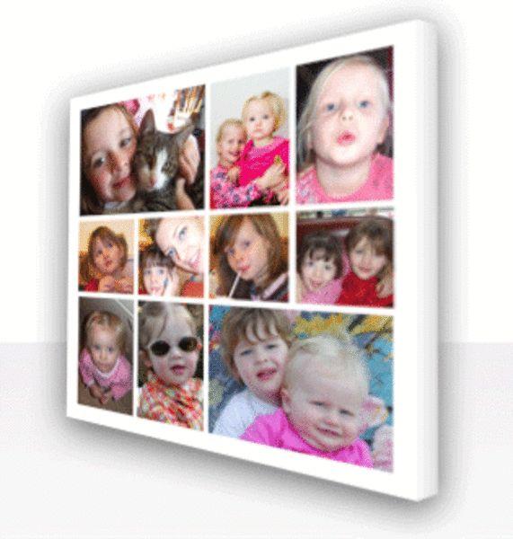 Laat je eigen foto op canvas afdrukken! Leuk voor aan de keukenmuur