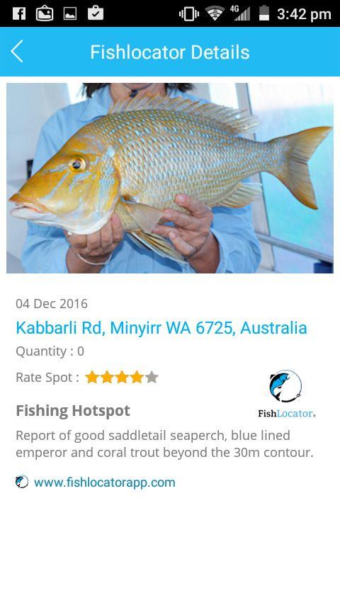 Broome Emperor Aus Fishlocator app