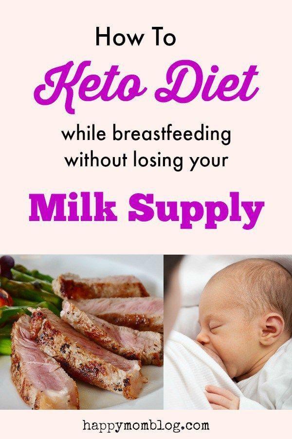 starting keto diet while breastfeeding