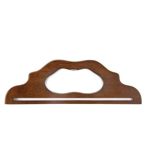 Wood Purse Handle 12'' Walnut, , hi-res