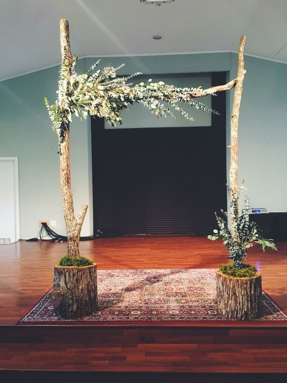 36 Wood Wedding Arches, Arbors And Altars                                                                                                                                                                                 More