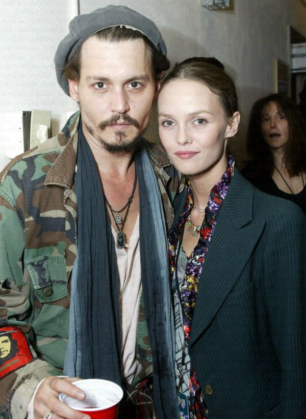 THE SHADY SIDE: the dapper duo- vanessa paradis and johnny depp street style