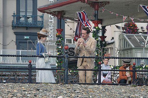 Matthew McFadden pictured filming Ripper Street in Ireland.