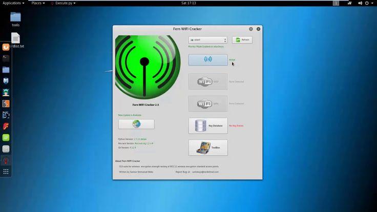 How To Hack Wifi Using Fern Wifi Cracker On Kali linux 2017.2 - Flawless...