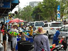 Songkran (Thailand) New year April 13-15