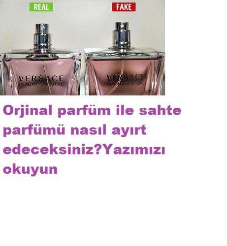 orjinal parfümle sahte parfüm farkı