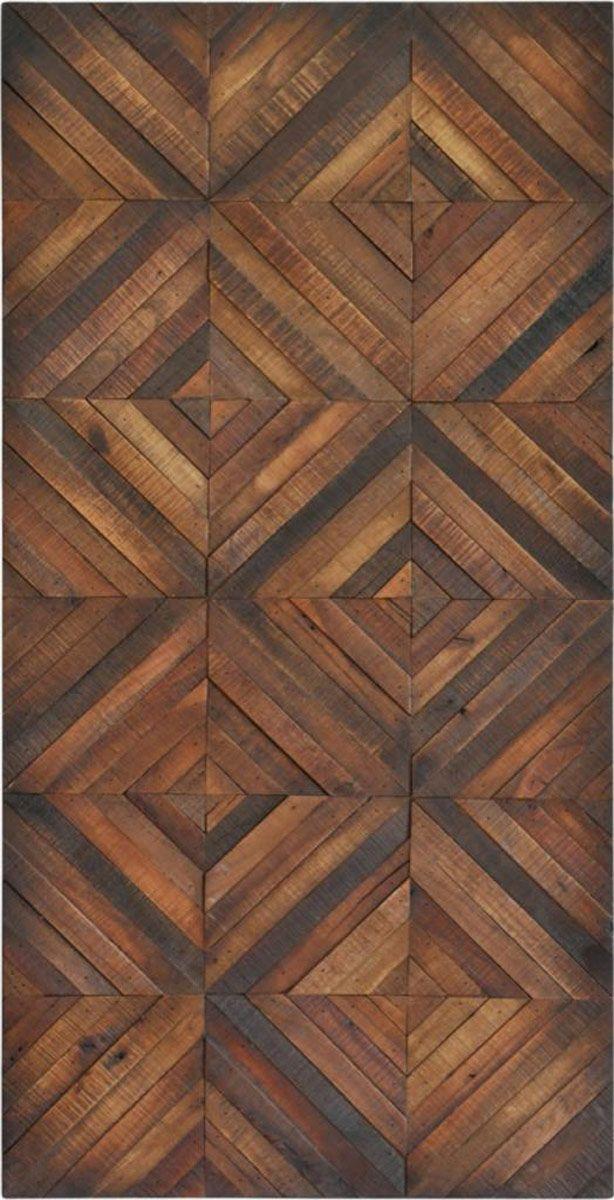 RenWil Chevron Stripes Painting in 2020 Wood floor