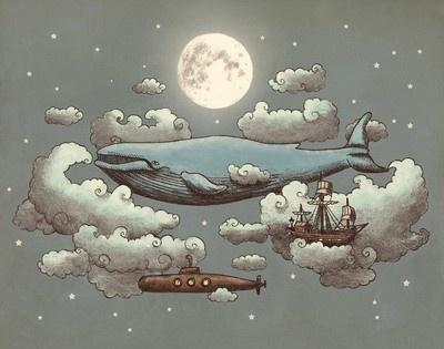 whalesFan Art, Fantasy Land, Terry Fans, Kids Room, Meeting, Art Prints, Kid Rooms, Kids Book, Art Illustration