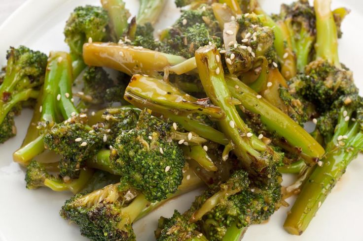 Sautéed Asian Broccoli