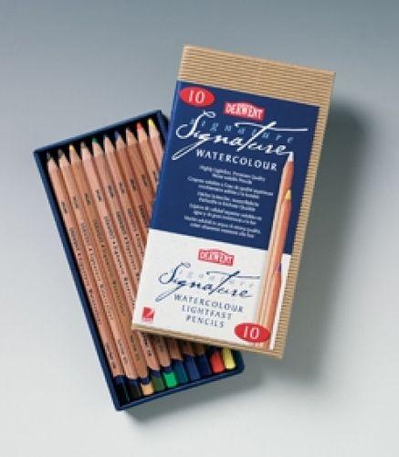Derwent Signature Watercolour Box 10