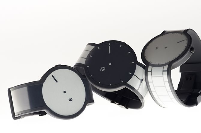 One watch gets multiple designs using e-ink.