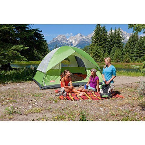Outdoor Camping Hiking Tent 6 Person Quick Setup with Carry Bag Storage Pocket #OutdoorCampingHikingTent6Person