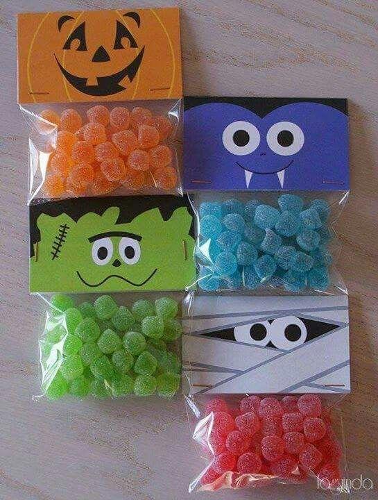 Bolsa dulces miedo halloween