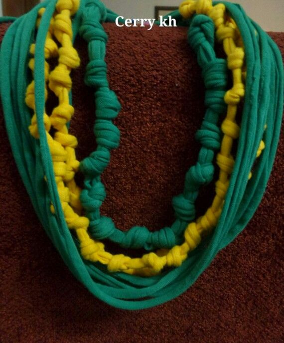 Necklace T-Shirt  Yarn MamaKè