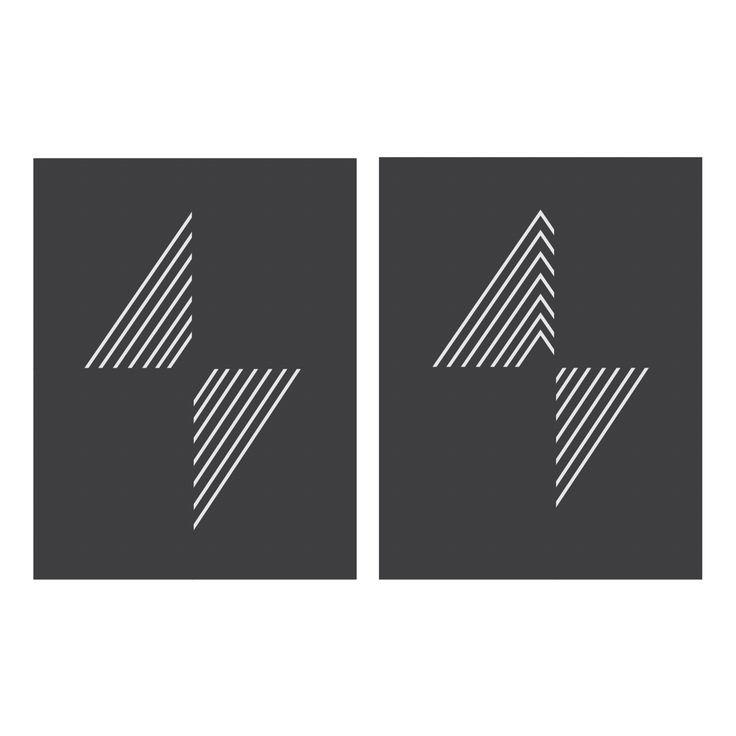 Sound & noise. A graphic art composition designed by Kristine Svalheim