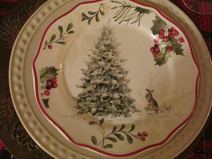 Plates, chargers - Walmart this year. Glassware, tablecloth, napkin rings, ancient. Napkins - Old Time Pottery, this year.