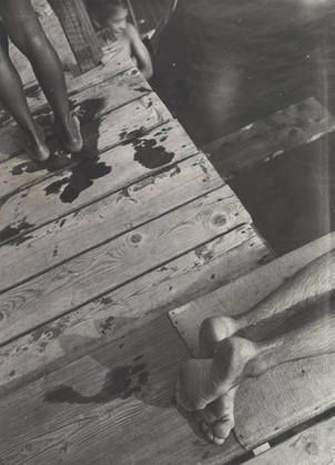 László Moholy-Nagy. The Diving Board. 1931 or earlier