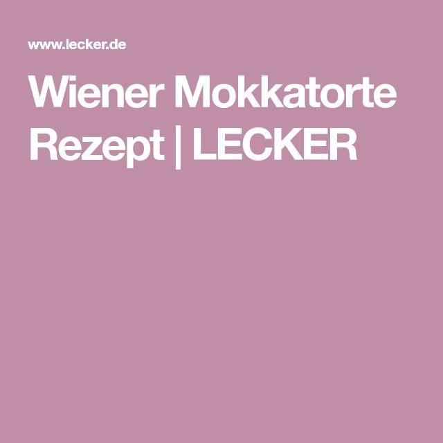 Wiener Mokkatorte Rezept | LECKER