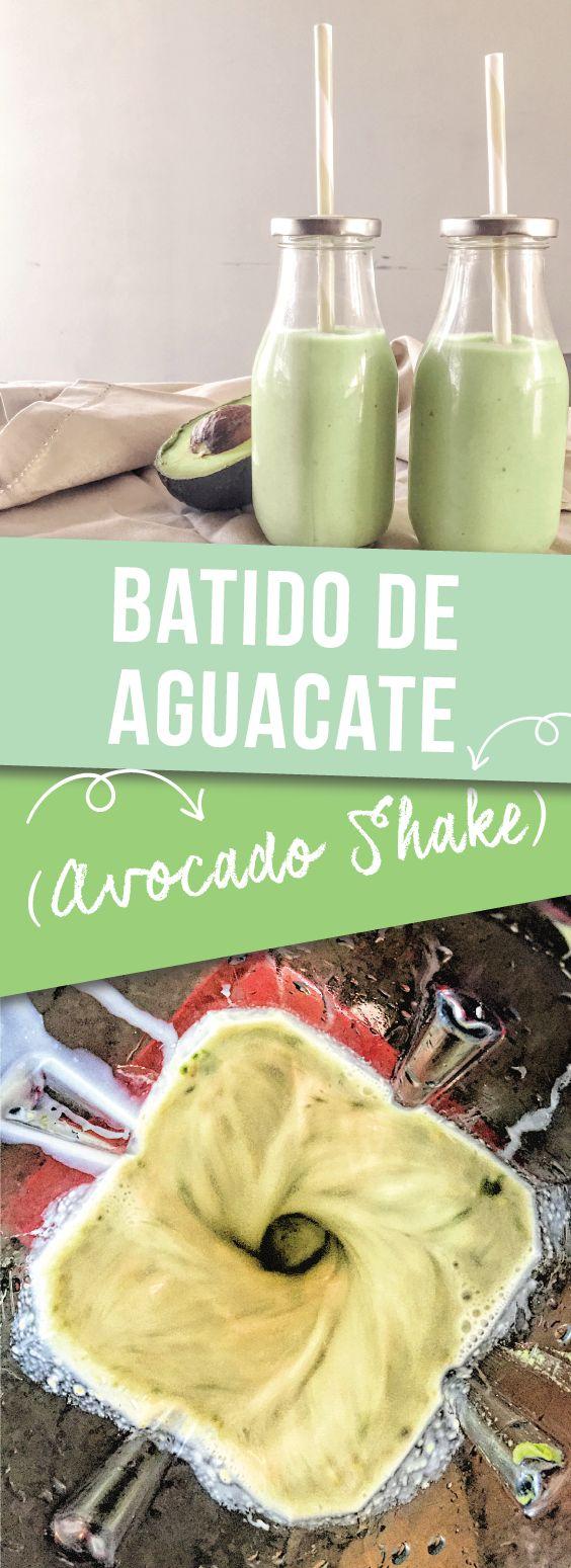Batido de Aguacate (Avocado Milkshake) - Prepare to be pleasantly surprised by the sweet creamy flavor of this shake recipe with everyone's favorite food, AVOCADO. meikoandthedish.com