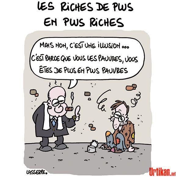 """Résultat de recherche d'images pour """"Caricatures des écarts scandaleux des richesses"""""""
