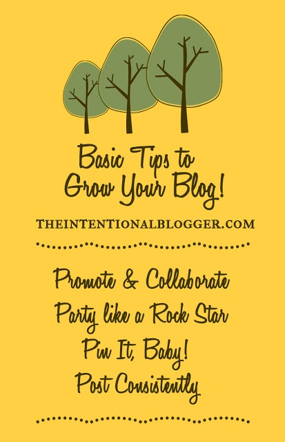 The Intentional Blogger: Let's Grow Your Blog!