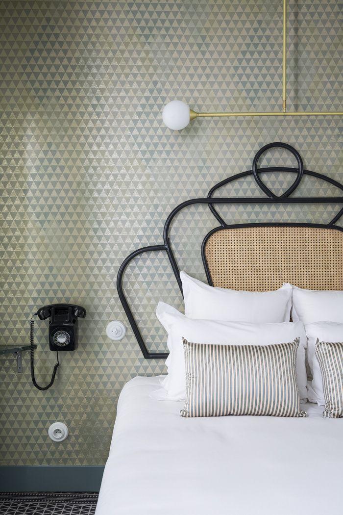 Les hôtels du mois Hôtel Panache à Paris décoré par Dorothée Meilichzon