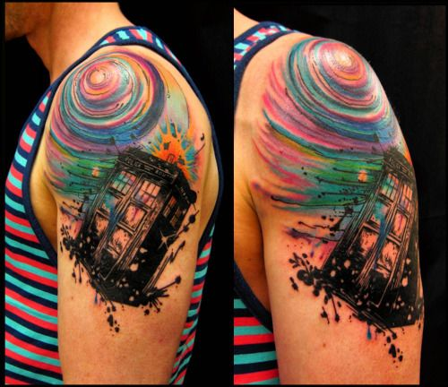 Best 25+ Dr Who Tattoo Ideas On Pinterest