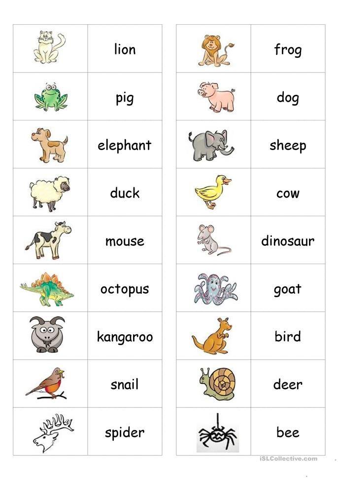 Animal Dominoes