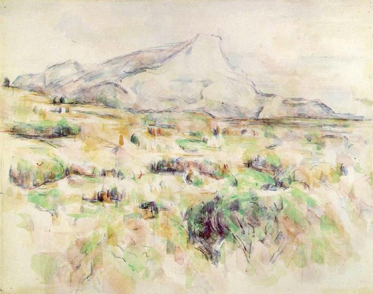 생트 빅투아르 산 – 폴 세잔4