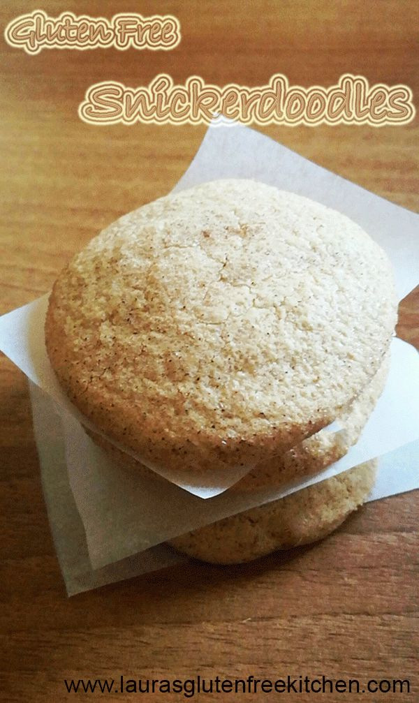 Gluten Free Snickerdoodle Cookies --- Great for Christmas