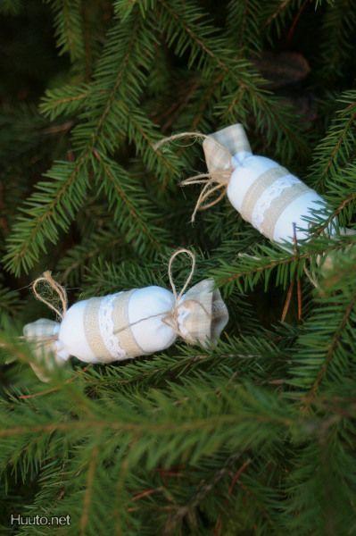 Karkki-kuusenkoristeet / Christmas tree decorations