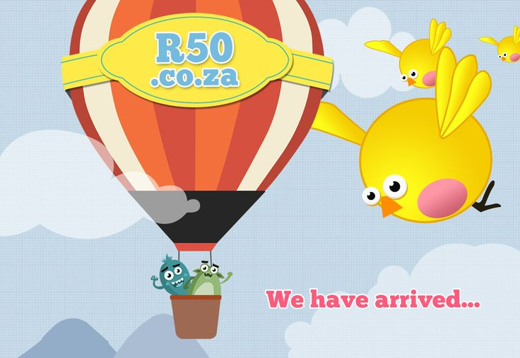 Come have a look at our website: http://r50.co.za/