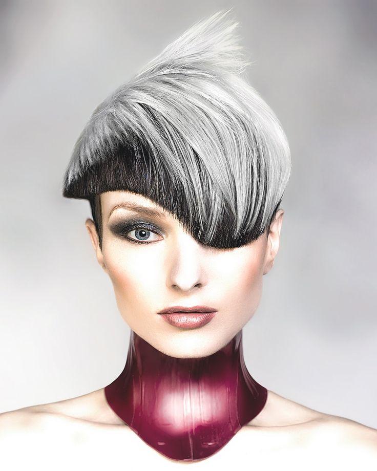 Hair: Robert Masciave Photographer: Robert Masciave colour credit: REVLON COLOURS