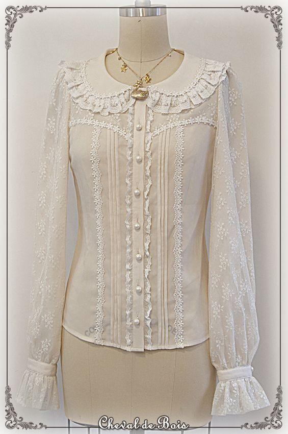 Cheval de Bois ~Margaret~ blouse