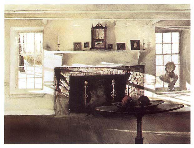 andrew wyeth interior