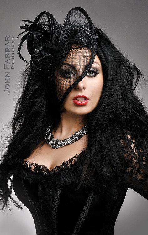 Gothic Beauty By KristenDugdaledeviantartcom Gothic