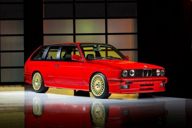BMW M3 E30 jako dvoudveřový kombík je bizarní auto snů