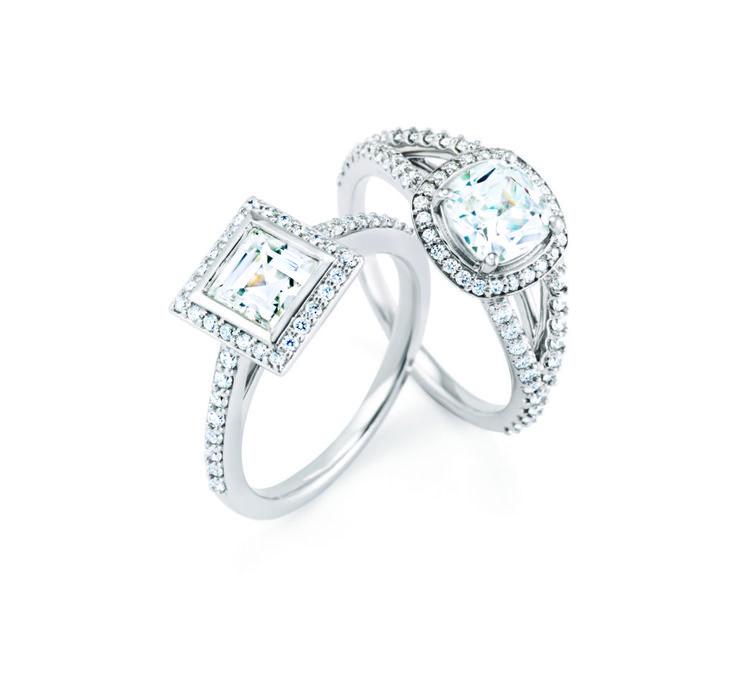 3c5822d3d946 Halo. Estilos De Anillo De CompromisoAnillos Con Diamantes ...