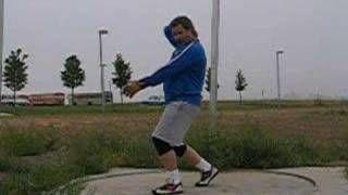 Hammer Throw Technique - YouTube
