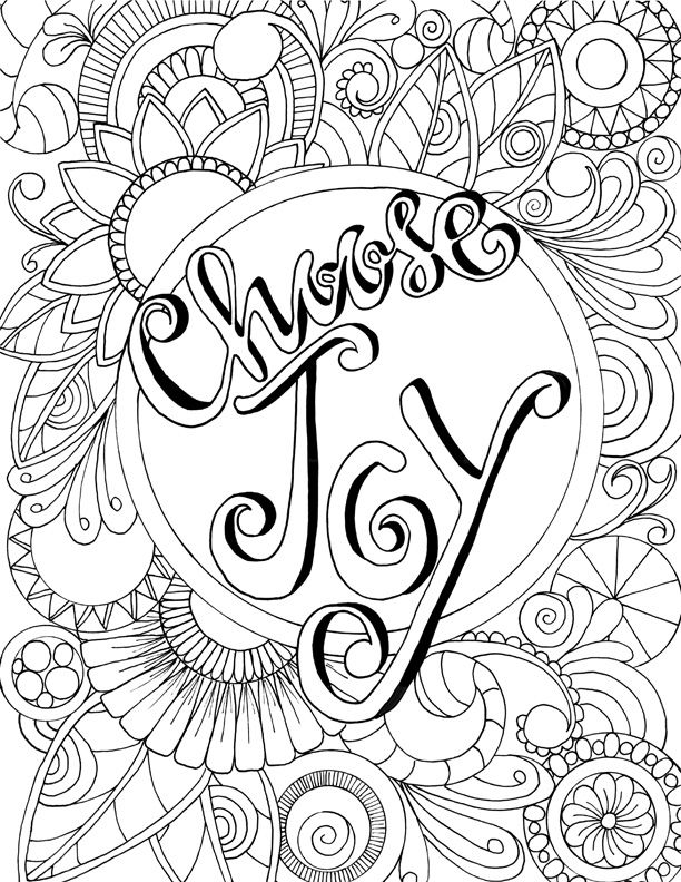17 Best images about Words Coloring Pages for Adults on ...