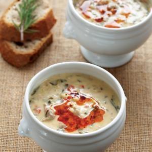 Kuzu etli ve buğdaylı pazı çorbası