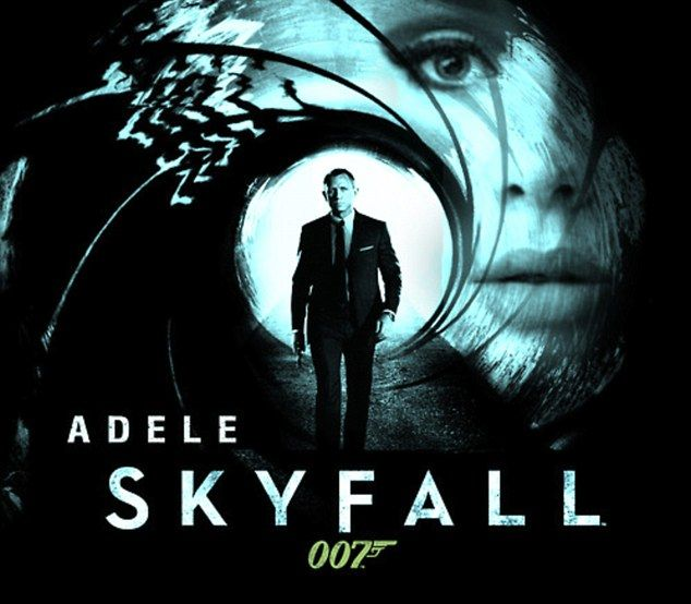 Straight to No. 1! Adele breaks records and tops iTunes charts with Skyfall…